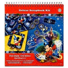 Disney World Deluxe Scrapbooking Kit - Four Parks One World