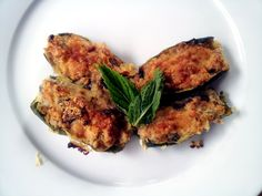 Baked Zucchini Stuffed with Tuna and Olives @ http://allrecipes.com.au