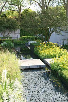 The Daily Telegraph Garden by Marcus Barnett Chelsea Flower Show 2015