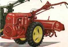 Bungartz FK series, This is the tractor I drove in my uncle's garden.