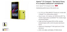 Sony Xperia Z1 Compact arrives in India with PriceTag INR 36,990/- - ANDROID-DIRT