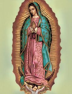 """Guadalupe Poster, 13"""" x 17"""" - MADE IN ITALY"""