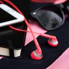 What's in your bag? These coral #SHE3200 earphones are perfect for carrying along with you when you need your tunes. #everyday #music #bag #fashion (scheduled via http://www.tailwindapp.com?utm_source=pinterest&utm_medium=twpin&utm_content=post30747894&utm_campaign=scheduler_attribution)