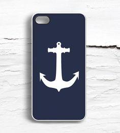iPhone Navy Anchor Case