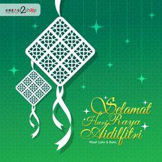 Halo Kreasi lovers, Kreasi2shop mengucapkan selamat Hari Raya Idul Fitri 1437 H. Minal Aidin Wal Faidzin, Mohon Maaf Lahir Dan Batin #idulfitri #kreasi2shop Selamat Hari Raya, Diwali Craft, Eid Mubarak, Four Seasons, Ramadan, Islam, Greeting Cards, Concept, Picnics