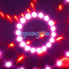 E27 3W Led Magic Ball light strong beams stage light red - Stage Lighting - Lightingole.com
