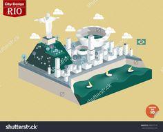 Design Vector Of Rio De Janeiro Brasil,Rio De Janeiro City Design In Perspective,Cute Design Of Rio De Janeiro - 295617119 : Shutterstock