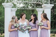 Gelique Convertible, Lilly Ann and Daisy dresses all made in stunning lilac fabric and lace combinations. A combination of styles that will make all your bridesmaids feel comfortable while keeping unity through colour palette. Bridesmaids, Bridesmaid Dresses, Wedding Dresses, Daisy Dress, Fabric Combinations, Body Types, Unity, Compliments, Convertible