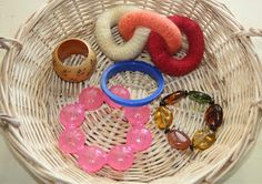 Counting Coconuts: Treasure Basket: Rings