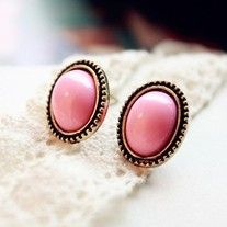 0.6 for 1 pair  Item specifics Earring Type:Stud Earrings Item Type:Earrings Fine or Fashion:Fashion is_customized:Yes Style:Classic Gender:Women Brand Name:Brand New Metals Type:Zinc Alloy Shape\pattern:Round