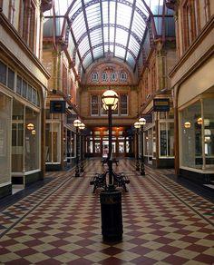 Miller Arcade, Preston, Lancashire, England, UK