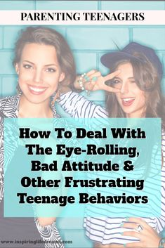 Parenting a teenager isn't always easy! Here you will find great advice for parents raising a teenage boy or girl with a bit of bad attitude.