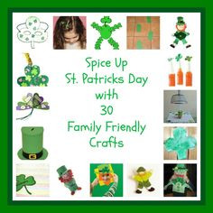 Spice up Saint Patrick's Day for Your Kids with These 30 Craft Ideas