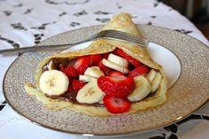 Homemade Strawberry Banana Nutella Crepes   Community Post: 45 Life Changing Nutella Recipes