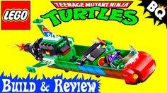 LEGO Ninja Turtles T-Rawket Sky Strike 79120 TMNT Review