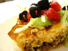 The Beehive Cottage: What a Guy & Taco Quiche!
