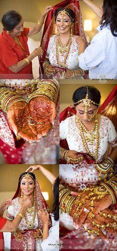San Diego Indian Wedding Getting Ready