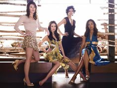 Jewel Staite, Summer Glau, Morena Baccarin, Gina Torres from Firefly