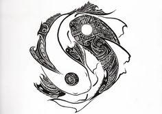 Resultado de imagen para yin yang tatuaje