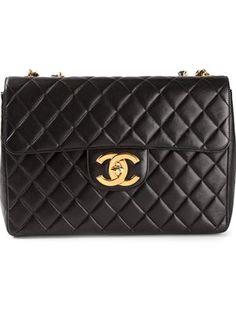 c432df9da20f Chanel Vintage Quilted Shoulder Bag - Stefania Mode - Farfetch.com Quilted Shoulder  Bags