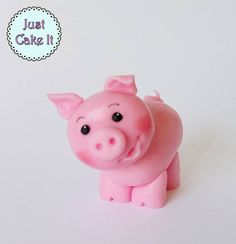 I have just posted new tutorial! I made this cute little piggy cake topper:) hope you will like it, and if yes, please subscribe to my youtube channel for more videos like that:)