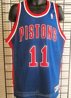 9acbcdc23 Check Out This Vintage Authentic Isiah Thomas Pistons Jersey! Vintage  Jerseys