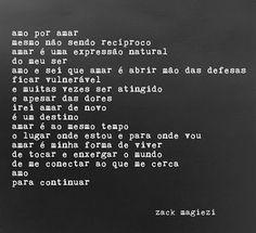 Blog Larissa Andrade: As poesias de Zack Magiezi
