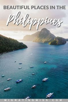 16 of the Most Beautiful Places in the Philippines - Want to travel in the Philippines? Check out these amazing bucket list destinations to get your trip planning started! Voyage Philippines, Les Philippines, Philippines Travel Guide, Boracay Philippines, Phillipines Travel, Bora Bora, Tahiti, Destin Beach, Beach Trip