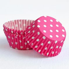 Cup cake cases - great my the minnie mouse theme