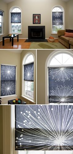 Modern roller blinds with pizzazz