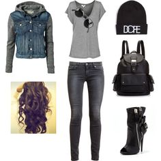 Nelly.com is where you can purchase this jacket and the beanie you can purchase that at tillys #fashion #cuteoutfits