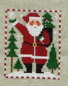 Christmas Ornament Stitch-A-Long: Prairie Schooler Santas and Snowmen