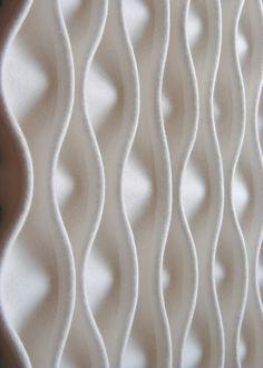 Felt decorative acoustical panels