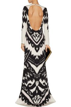 Emilio PucciPrinted silk-jersey gownfront