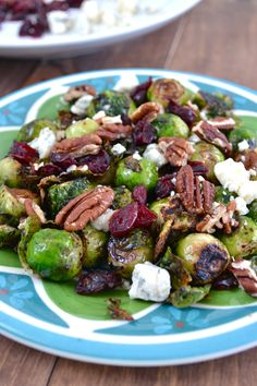 Cranberry Pecan Brussel Sprouts