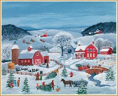 Christmas Scenes, Christmas Art, Christmas Tree Farm, Winter Pictures, Christmas Pictures, November Wallpaper, 2015 Wallpaper, Computer Wallpaper, Photo Images