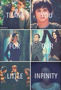 The Mortal Instruments, Percy Jackson, Divergent, The Hunger Games, Harry Potter, and The Fault in our Stars.