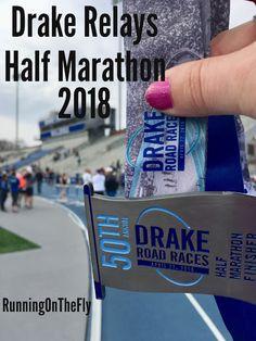 Running on the Fly: Drake Relays Half Marathon 2018 Disney Races, Run Disney, Drake Relays, Relay Races, Running Race, Road Racing, Marathon, Fan, Spaces