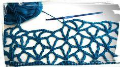 Freeform Crochet, Crochet Motif, Crochet Shawl, Crochet Flowers, Crochet Lace, Crochet Stitches Patterns, Lace Patterns, Knitting Stitches, Crochet Designs