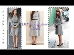 0bb0004a7e92 DIY Long Sleeve Dress - YouTube Make Your Own Clothes, Modest Outfits,  Sewing Projects