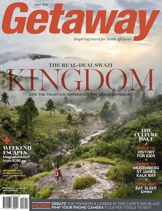 """#MagLoveTop10 29 January 2016: """"Best Travel Magazine Covers of 2015."""" #5. Getaway, May 2015."""