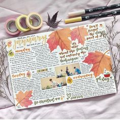 Travel journal sketchbook layout 34 Ideas for 2019 Bullet Journal Book, Bullet Journal Planner, Bullet Journal Aesthetic, Bullet Journal Ideas Pages, Bullet Journal Spread, My Journal, Art Journal Pages, Bullet Journals, Autumn Bullet Journal