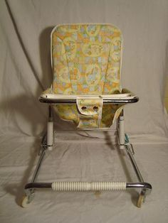 Antique 60s Baby Playpen | Vintage 1950's 1960's Infant Baby Walker Bouncy Chair Seat | eBay