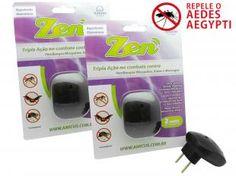 Kit de Repelente Eletrônico Ultrassônico Zen - 2 Unidades - Amicus