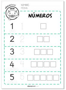 pensamiento matem tico on pinterest number tracing ten frames and math literacy. Black Bedroom Furniture Sets. Home Design Ideas
