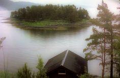 Insel im Fjord, Foto: U. Kretschmer