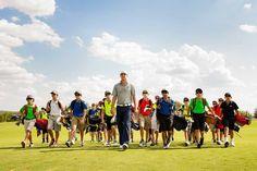 Golfer: Jordan Stiefer teaches children how to play golf free of charge!  God Bless him!  (: #BasicsofGolf