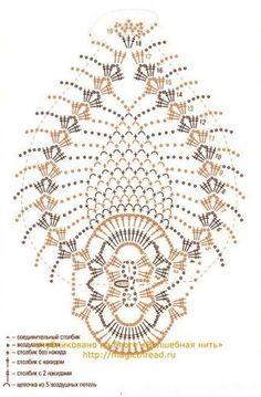 Crochet Gifts Wedding 48 Trendy Ideas W Crochet - Diy Crafts Crochet Chart, Crochet Motif, Irish Crochet, Crochet Doilies, Crochet Flowers, Crochet Stitches, Crochet Patterns, Diy Crafts Crochet, Crochet Gifts