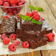 Saftige, schnelle Low Carb Schoko-Brownies