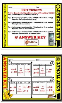 Exit Ticket  Arithmetic Sequence  Explicit  Recursive Formula